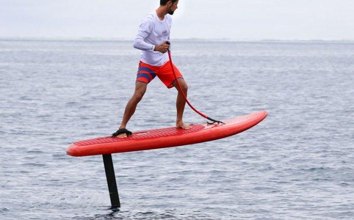 Доску для серфинга дополнили электромотором