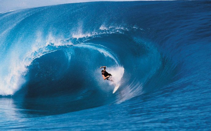 Думай как волна, живи как волна или как места для серфинга влияют