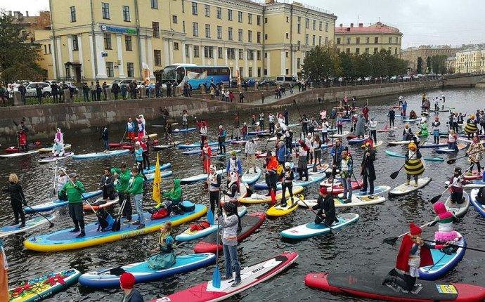 Фестиваль SUP-серфинга Фонтанка-SUP-2017 : Куда идти и что посмотреть