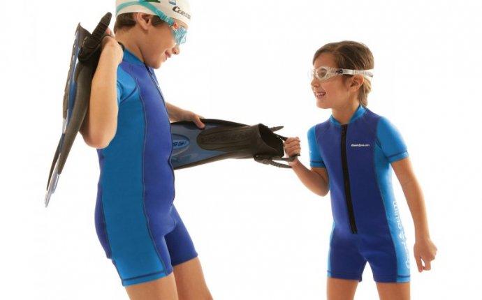 Гидрокостюм детский Cressi Baby Shorty, 2 мм, синий | Сеть
