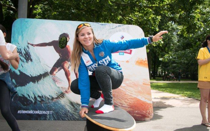 Олимпийский день и серфинг