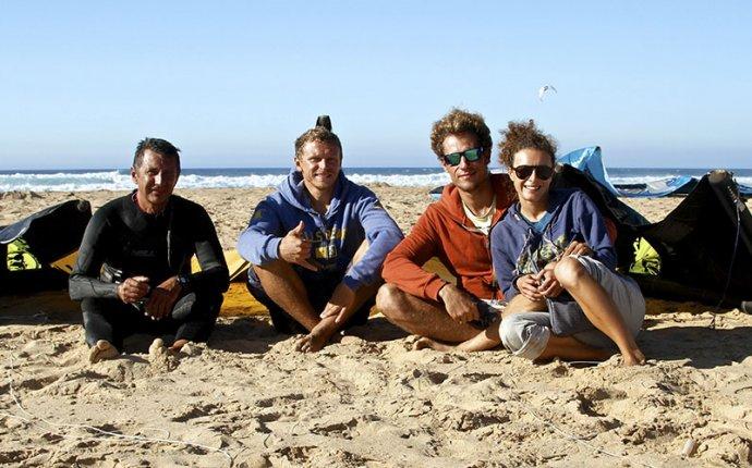 первая русская кайтсерфинг школа в Тарифе Испания кайтинг, виндсерфинг