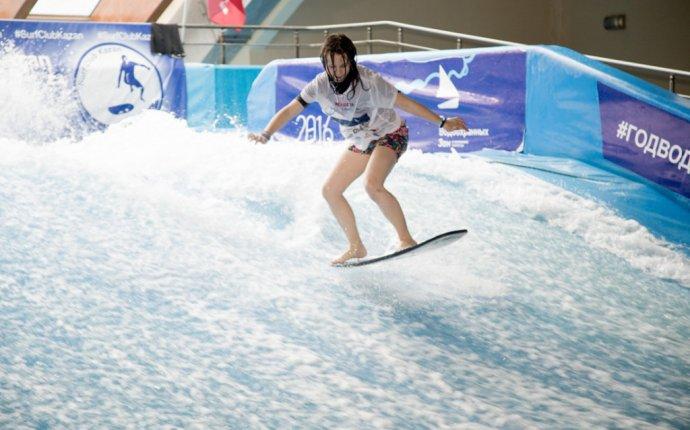 Первый в Саратовской области бассейн для занятий флоубордингом