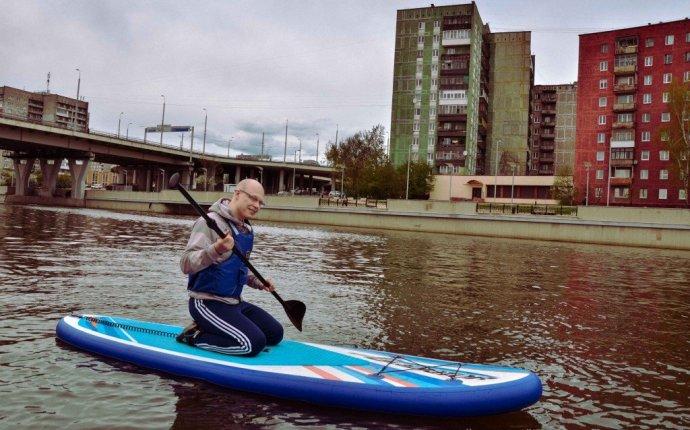 Сап серфинг: как я чуть не утонул в реке Преголе | SUPСЁРФ!