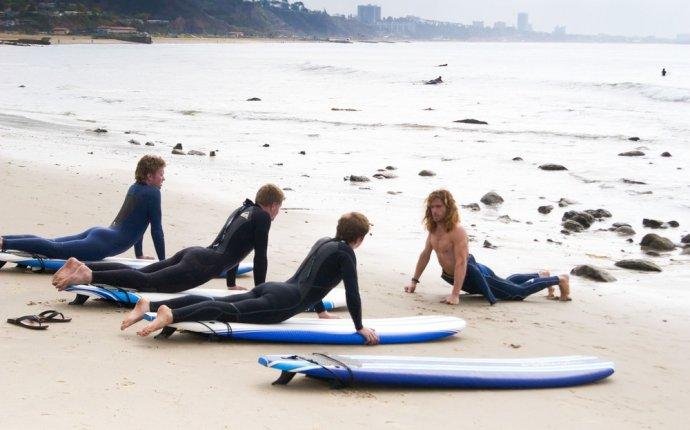 Серфинг и кемпинг с Eat Sleep Surf в Лос-Анджелесе
