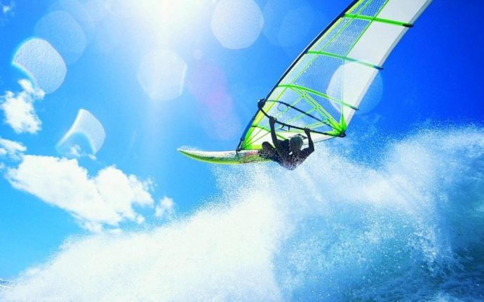 Серфинг с парусом как называется — Всякая всячина