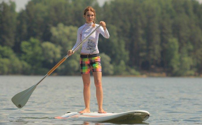 SUP серфинг - прокат и обучение Stand Up Paddle Surfing в клубе Истра