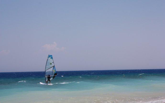 Виндсерфинг на Родосе | Блог Анны Романовой