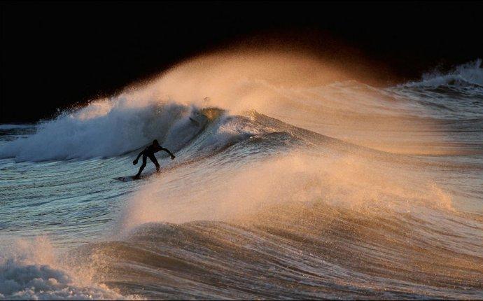 Зимний серфинг в Англии (28 фото) | Прикол.ру — приколы, картинки